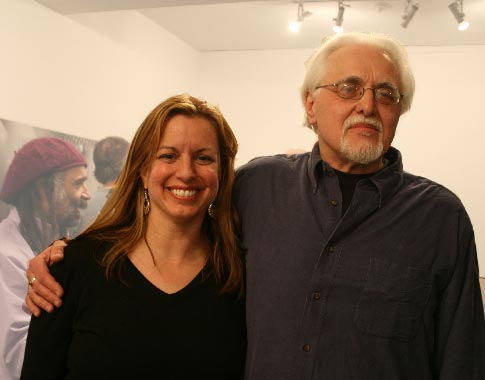 Linda Binder with Hal Rammel, photo by Dean Johnson
